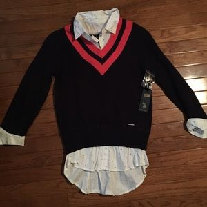 US Polo Assn collared sweater